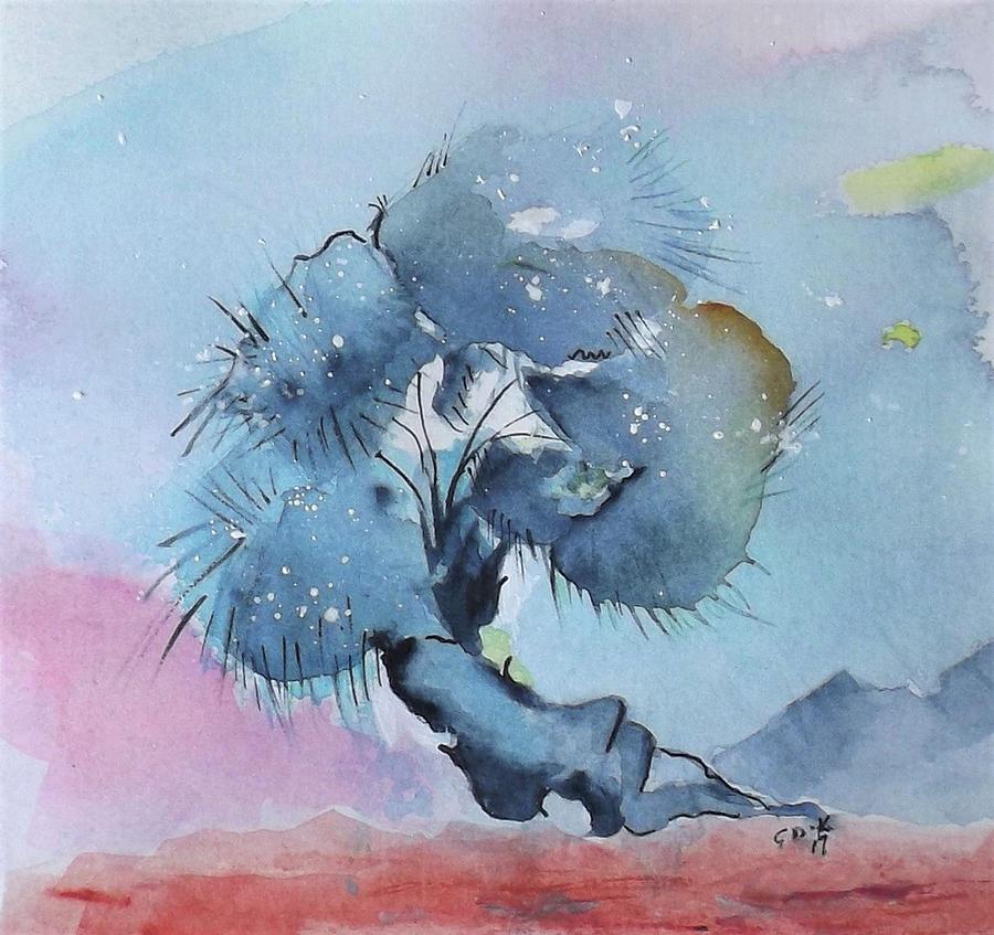 Bonsai 1 by Gloria Dietz-Kiebron