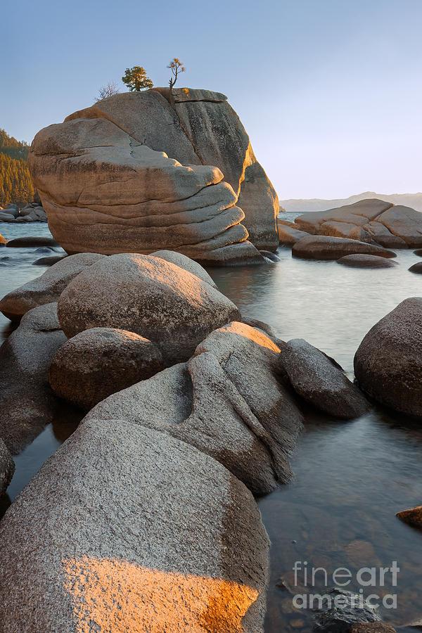 Lake Tahoe - Bonsai Rock Photograph