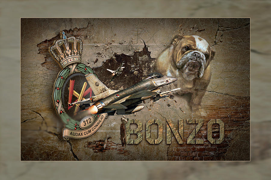 War Digital Art - Bonzo Image by Peter Van Stigt