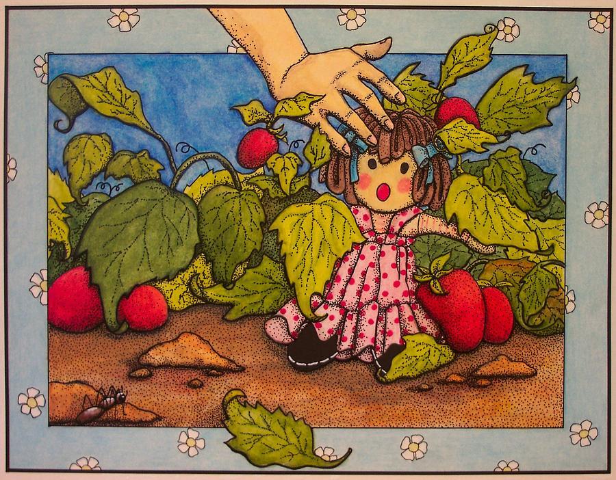Children Painting - Book Illustration by Victoria Heryet
