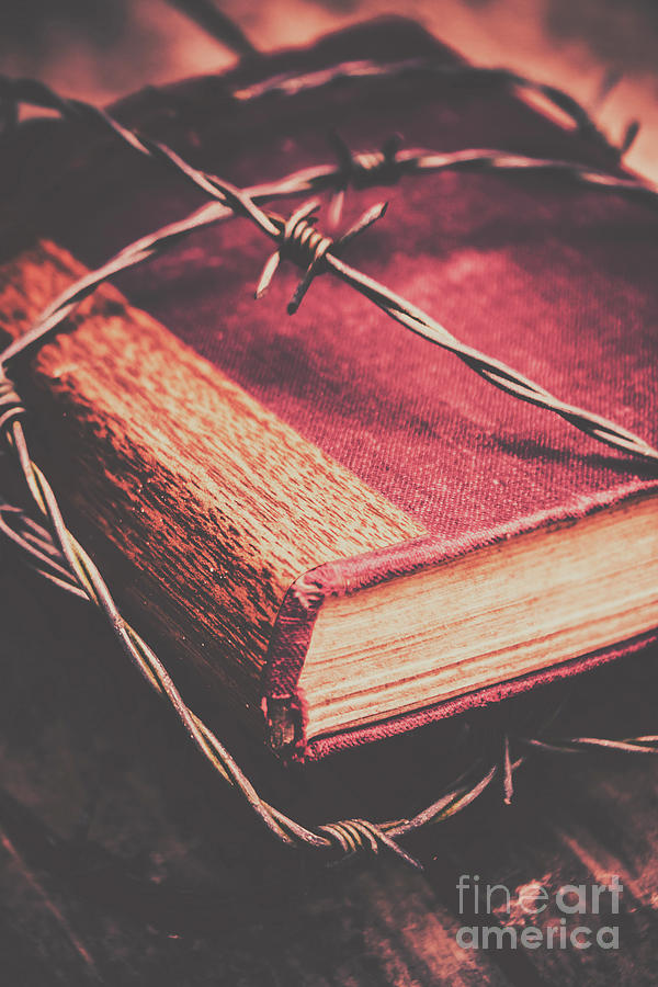 Bible Photograph - Book Of Secrets, High Security by Jorgo Photography - Wall Art Gallery