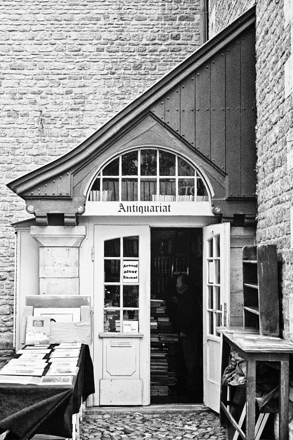 Germany Photograph - Bookstore by Benjamin Matthijs