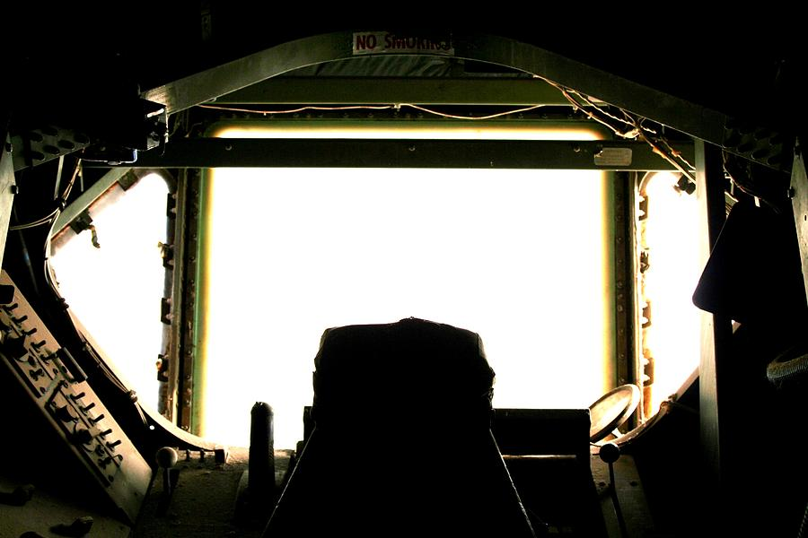 Boeing Photograph - Boom Seat by David S Reynolds