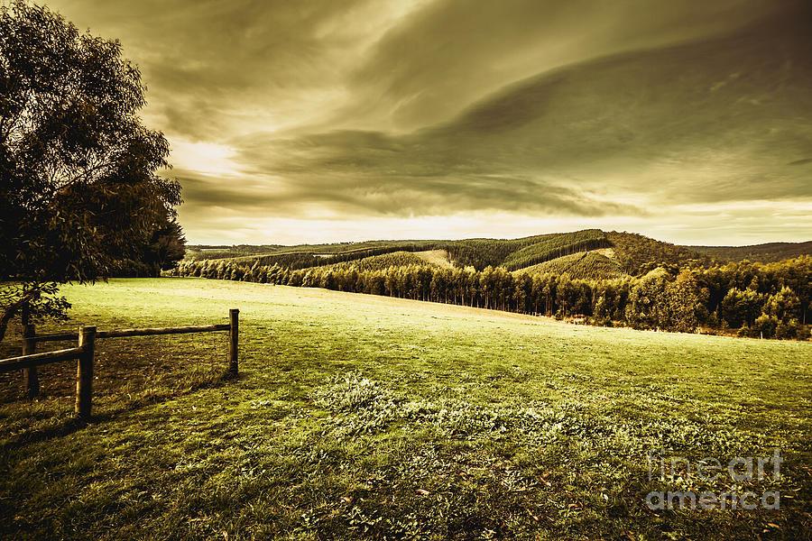 Farmland Photograph - Boonah Countryside by Jorgo Photography - Wall Art Gallery