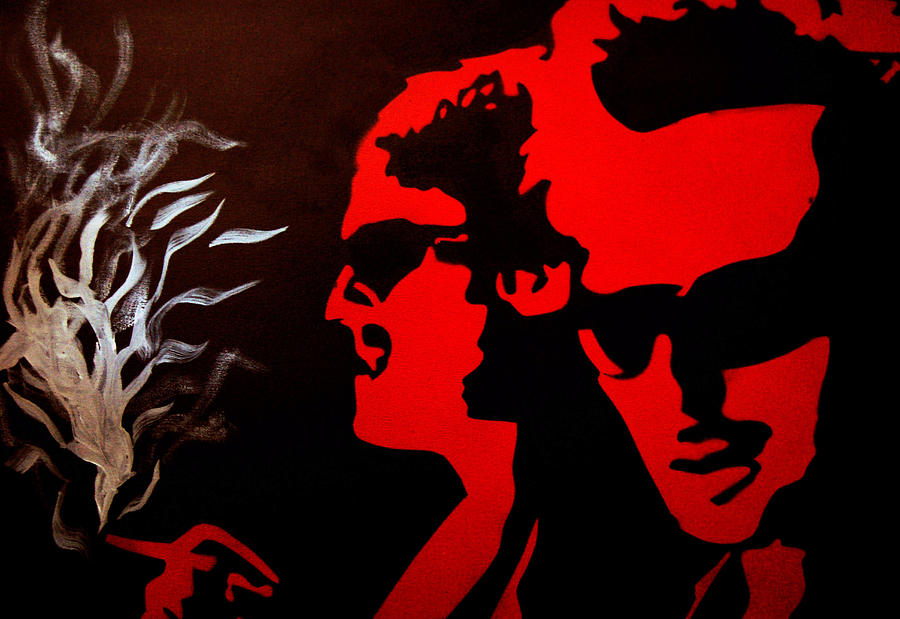Red Painting - Boondock Saints by Michael Ringwalt