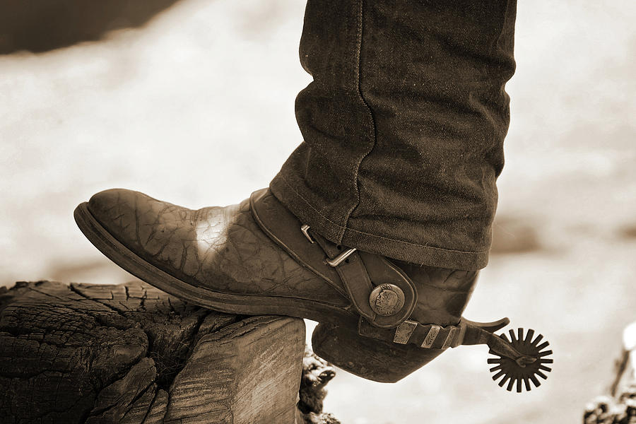 Boot and Spur by Julie Carter