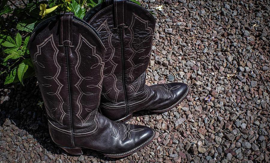 Arizona Photograph - Boots 2  by Giovanni Arroyo