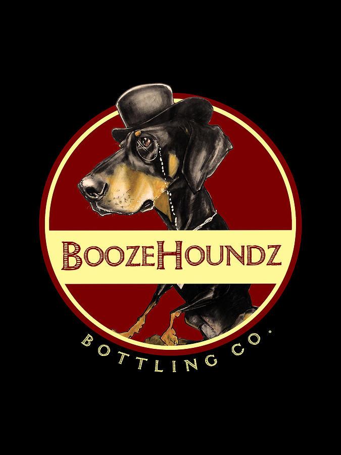 Boozehoundz Bottling Co. Drawing