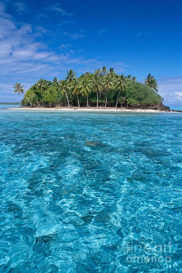 Aqua Photograph - Bora Bora, Motu by Joe Carini - Printscapes