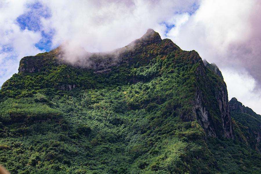 Bora Bora Mountain Top by Martin Naugher