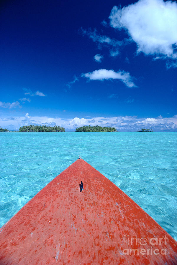 Across Photograph - Bora Bora, View by William Waterfall - Printscapes