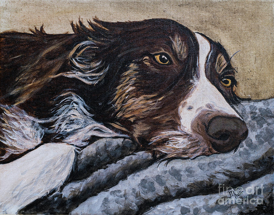 Border Collie Blues by Jackie MacNair