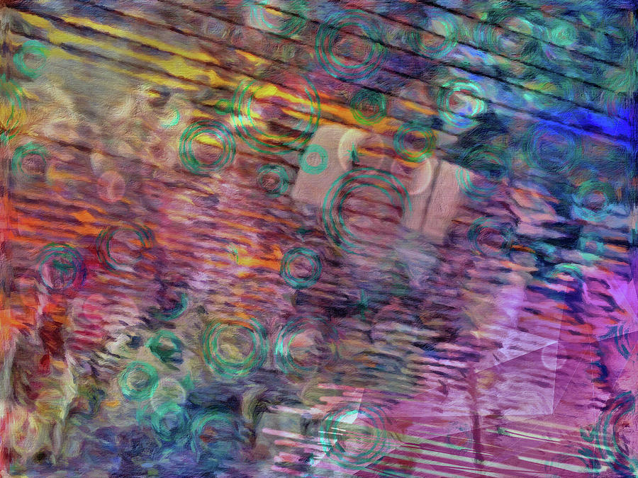 Abstract Digital Art - Border Crossing by David Boudreau