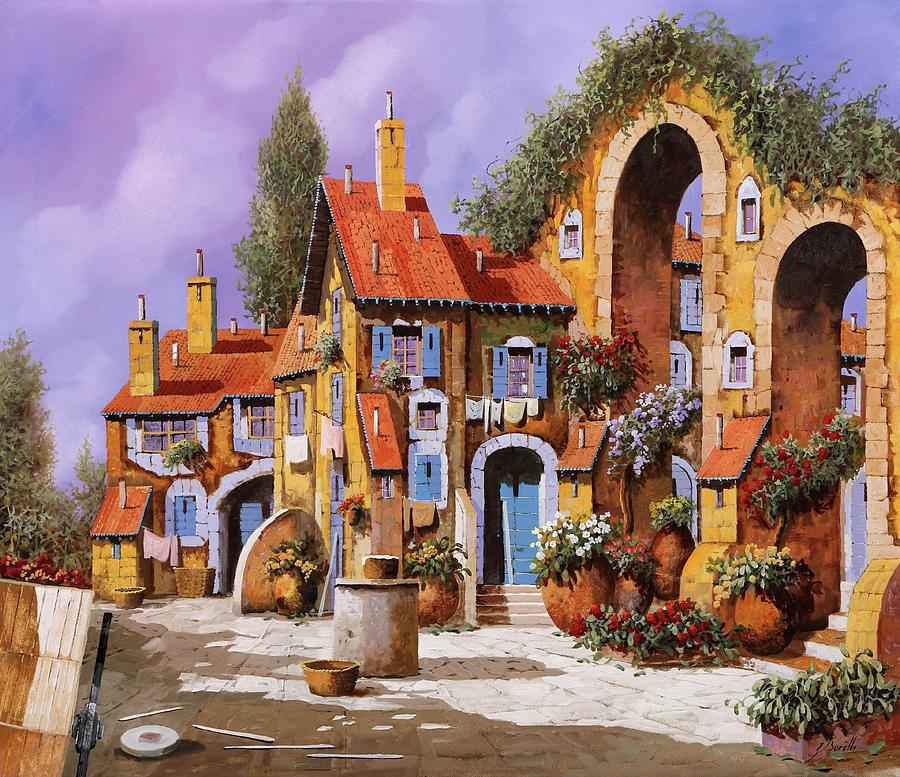Borgo A Colori Painting