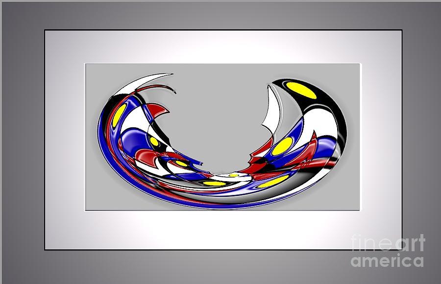 Figurative Digital Art - Born by Aline Pottier  Gama Duarte