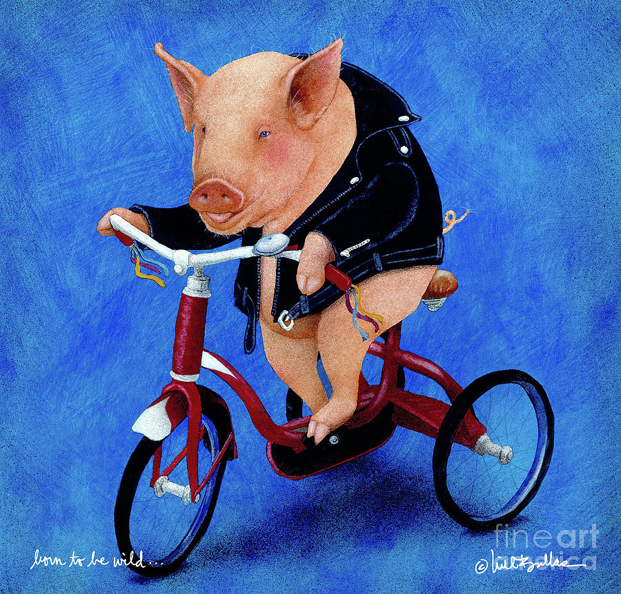 Will Bullas Painting - Born To Be Wild... by Will Bullas