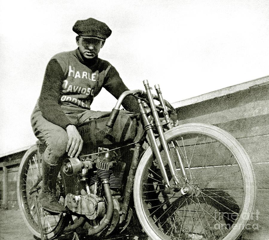 Harley Photograph - Born to Ride by Jon Neidert