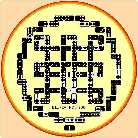 Knot Design Digital Art - Borobudur Knot Square by Bill Perkins