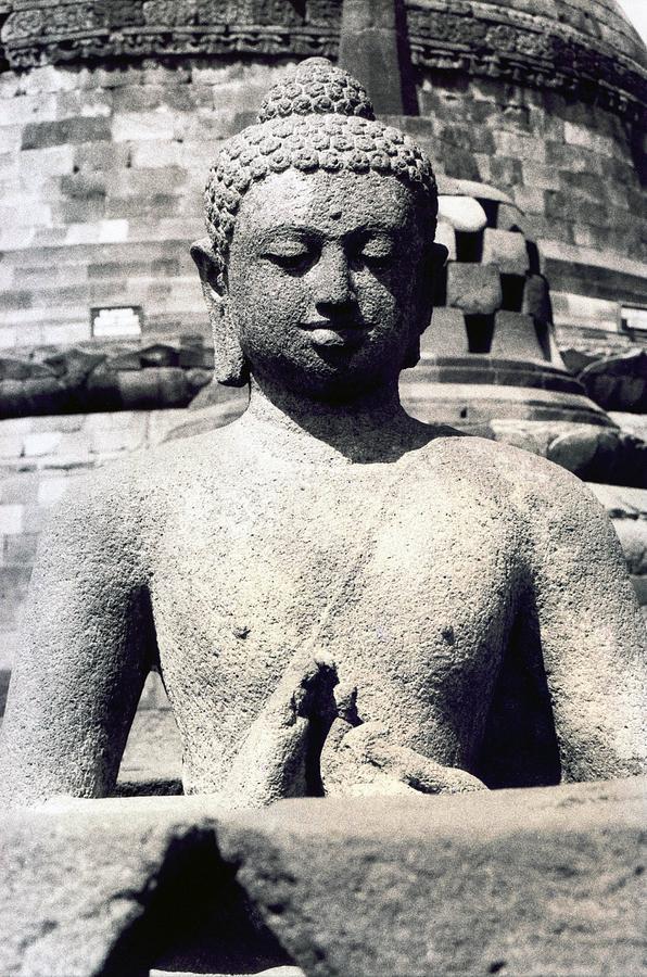 Image Photograph - Borobudur Temple  by Mario Bennet