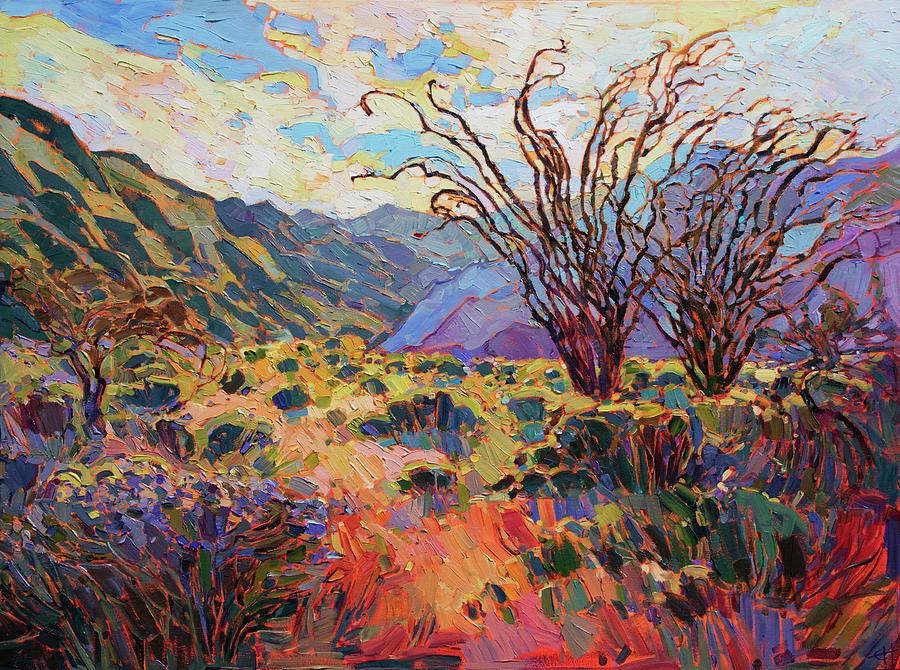 Borrego in Bloom by Erin Hanson