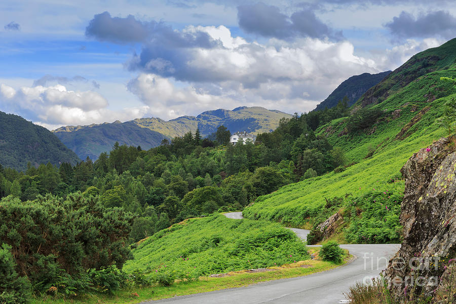 Borrowdale Photograph - Borrowdale From The Road North Of Grange In The Lake District by Louise Heusinkveld