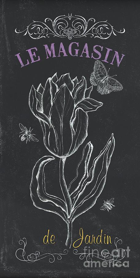 Floral Painting - Botanique 4 by Debbie DeWitt