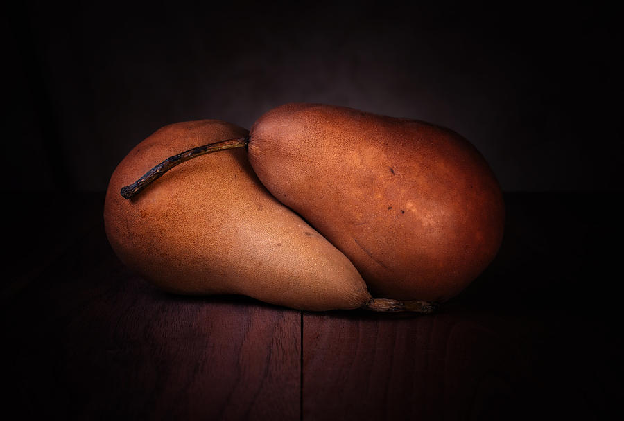 Fruit Photograph - Bosc Pears by Tom Mc Nemar