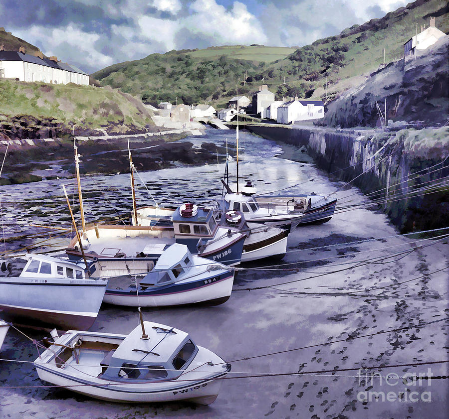 Boscastle Harbour by Gordon Wood