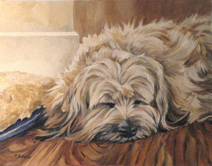 Bosleys Nap Painting by Cheryl Pass