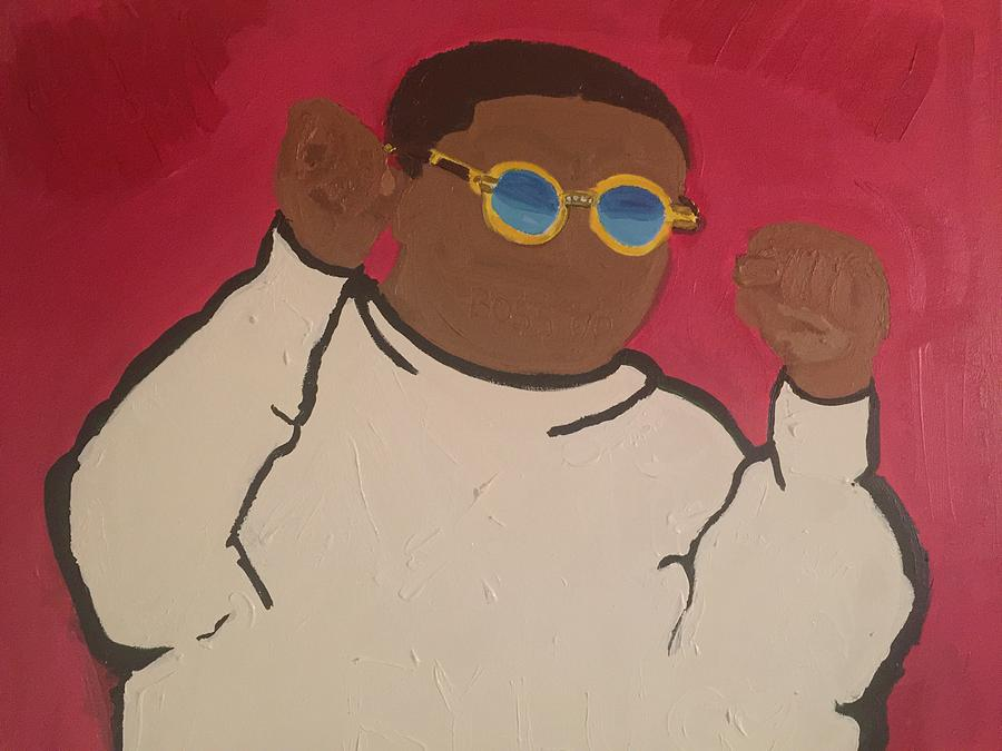 Boss Up Painting - Boss Ya Life Up by Kim Bell