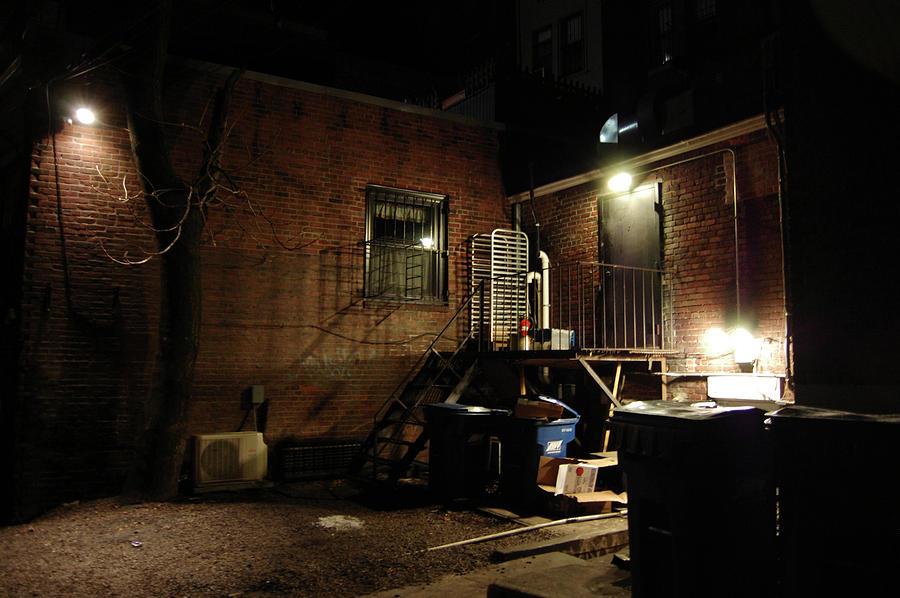 Boston Photograph - Boston Alley by Steven W Rand