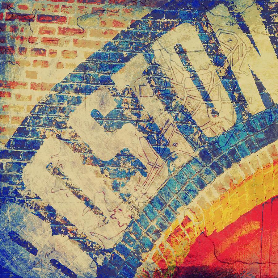 Brandi Fitzgerald Digital Art - Boston Bricks by Brandi Fitzgerald