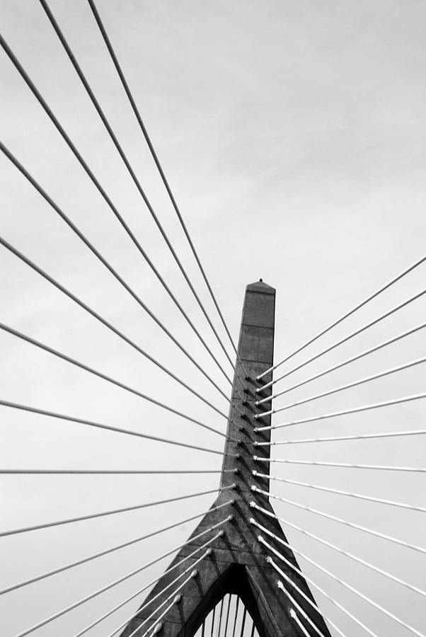 Bridge Photograph - Boston Bridge 2 by Maria Lopez