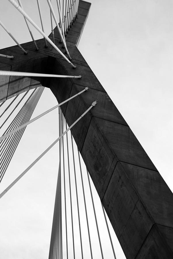 Boston. Bridge Photograph - Boston Bridge  by Maria Lopez