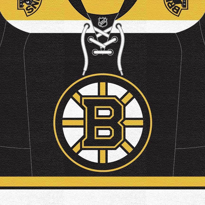 Boston Bruins Jersey Dark Digital Art By Game On Images