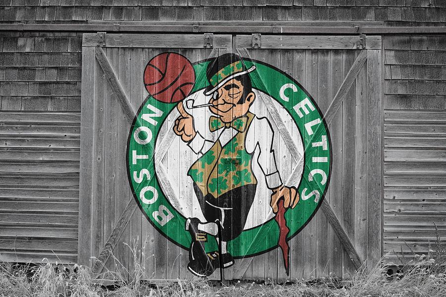 Celtics Photograph - Boston Celtics Barn Doors by Joe Hamilton
