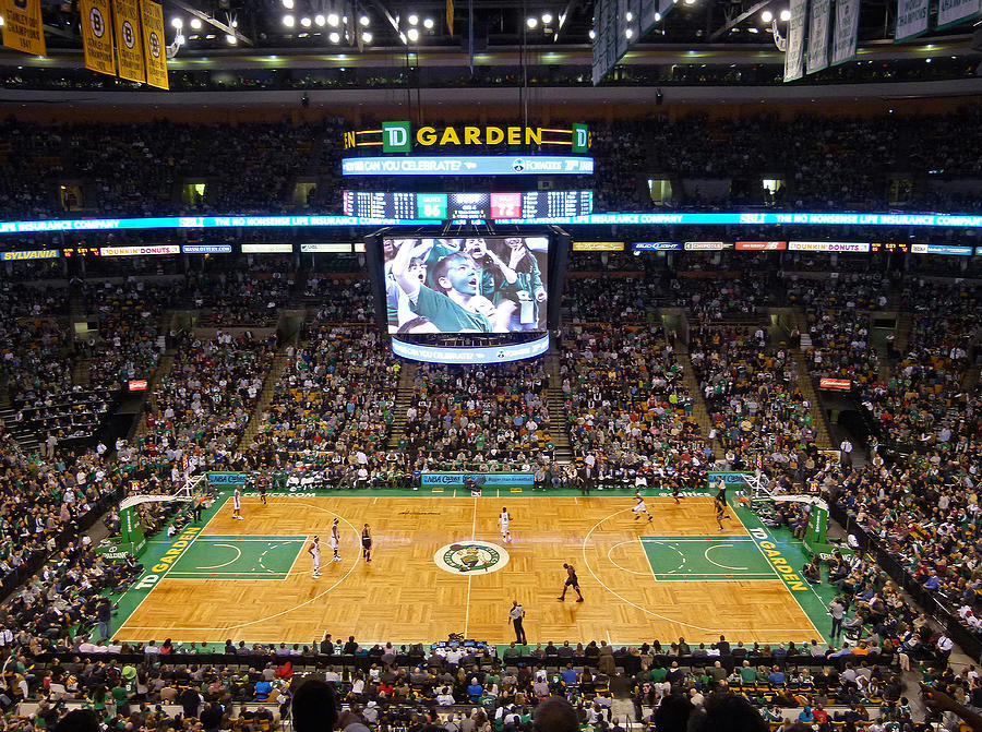 Boston Celtics Photograph - Boston Celtics by Juergen Roth