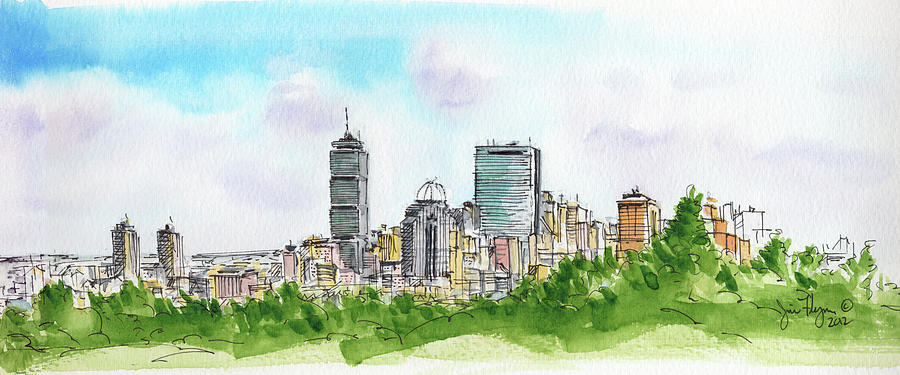 Boston Cityline by James Flynn