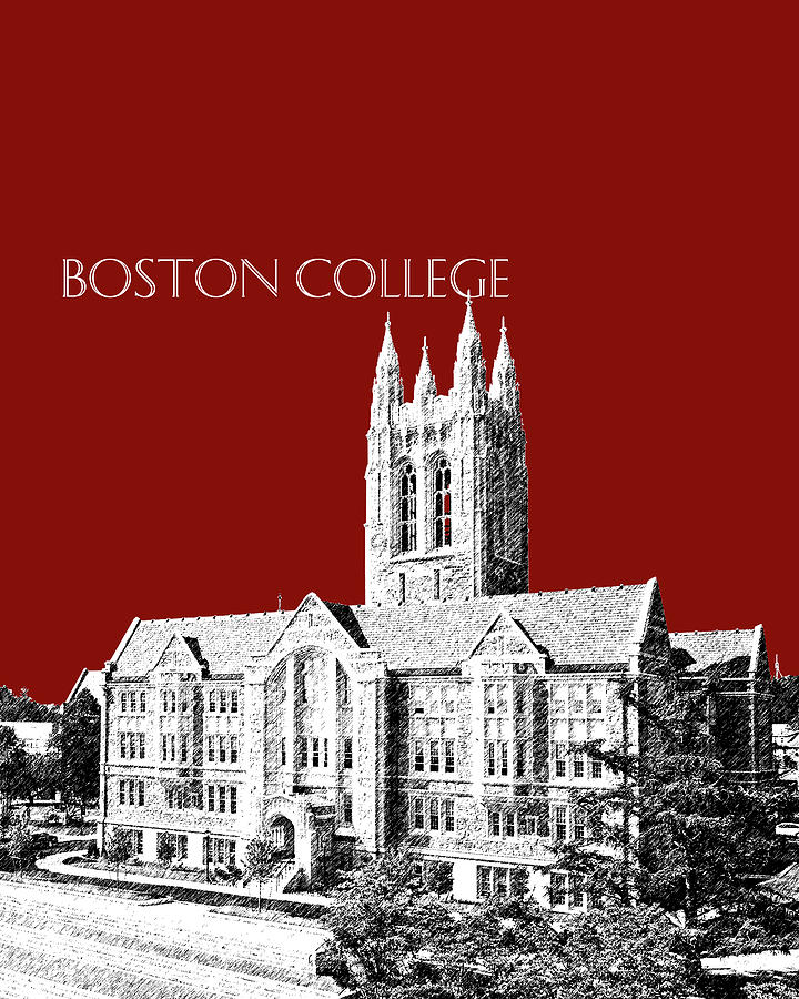 Boston College - Maroon by DB Artist