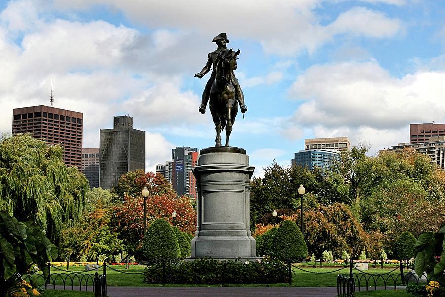Boston Photograph - Boston Common by DJ Florek