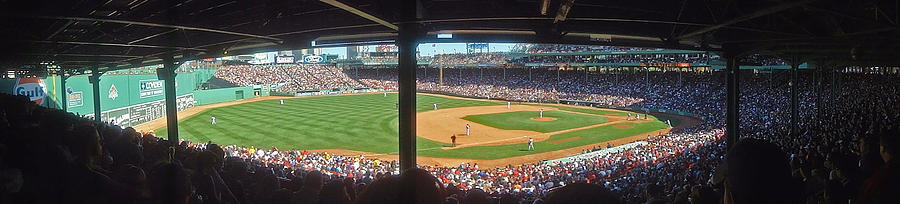 Sport Photograph - Boston Fenway Park by Juergen Roth