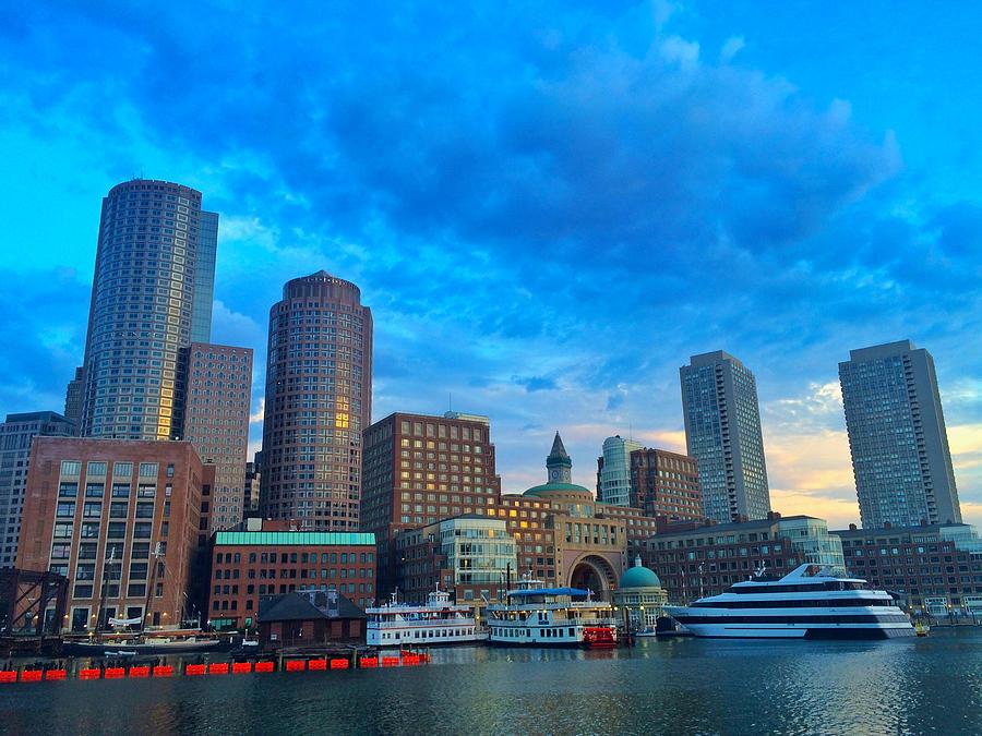 Boston Harbor  by Rick Macomber
