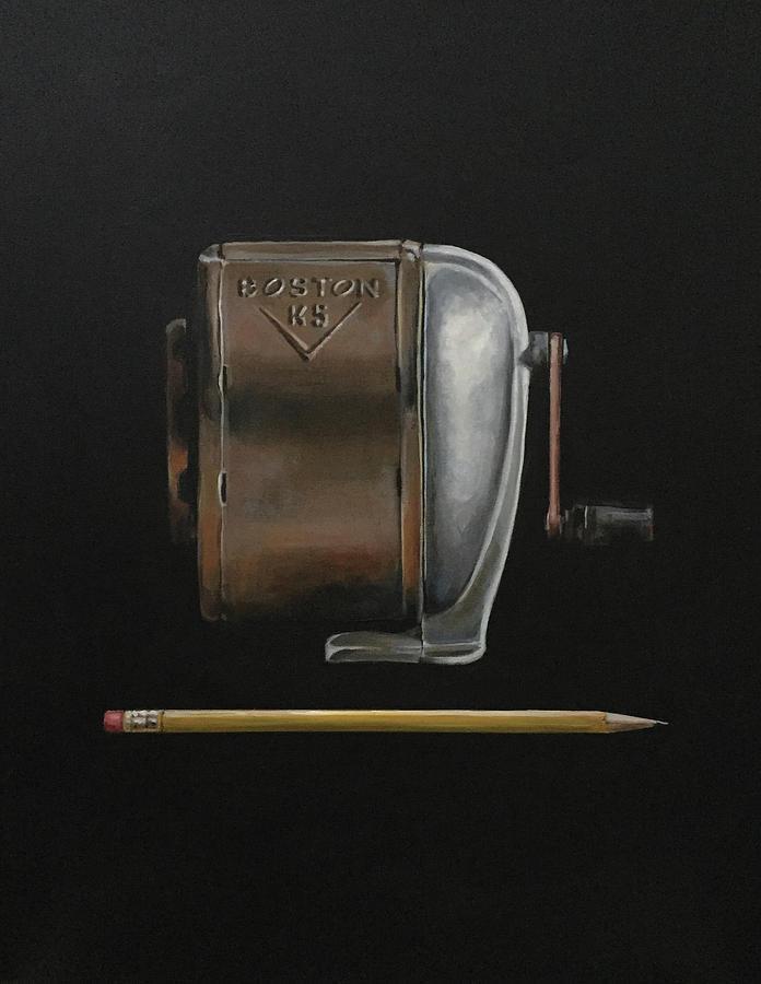 Pencil Painting - Boston by Jeffrey Bess