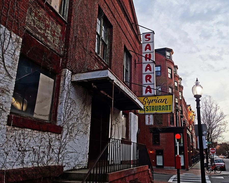 Boston Ma South End Sahara Syrian Restaurant