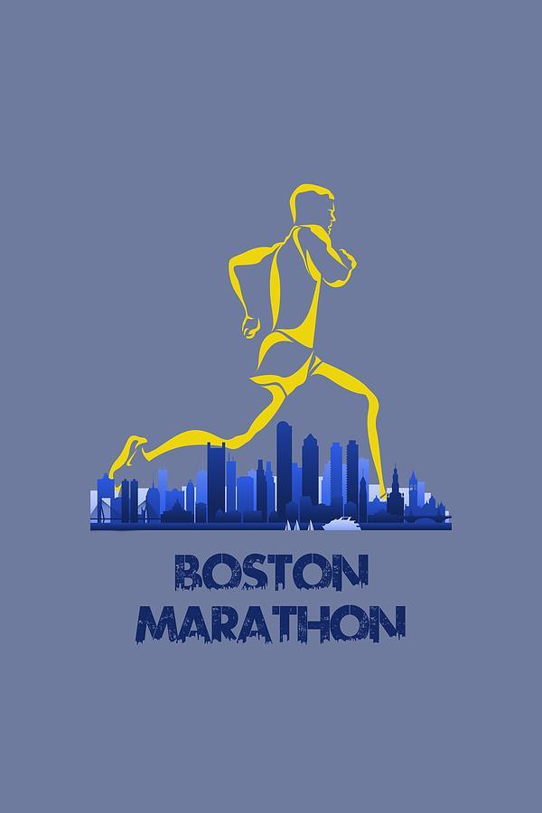 Runner Photograph - Boston Marathon5 by Joe Hamilton