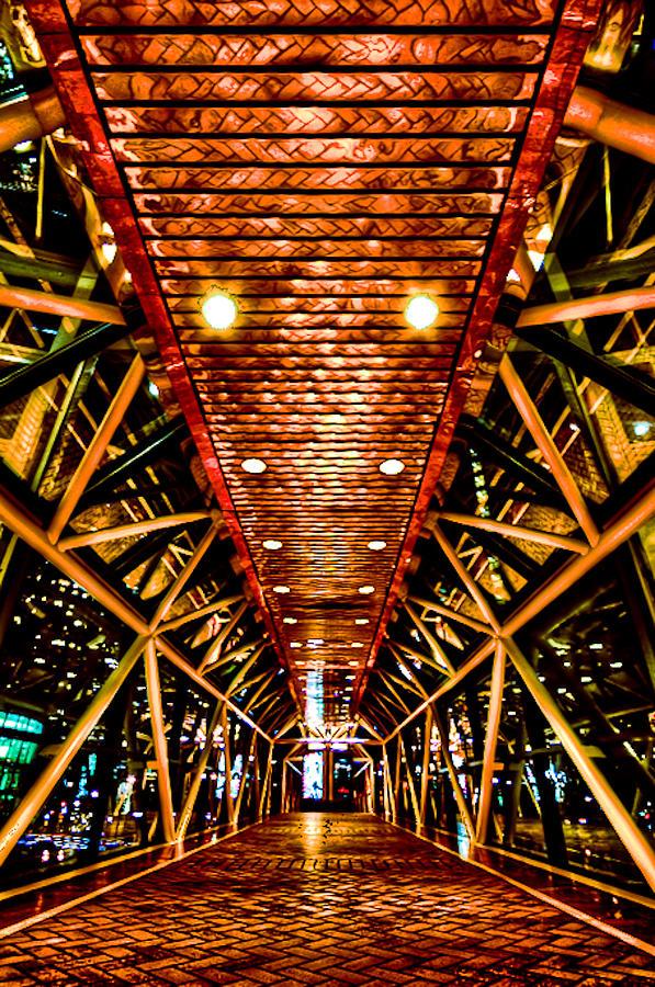 Boston Photograph - Boston Nightscape by Andrew Kubica