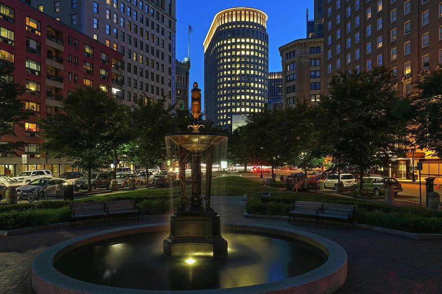 Boston Park Plaza Hotel By Juergen Roth
