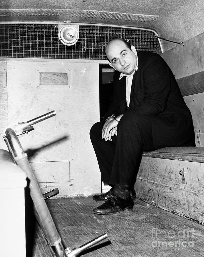 1965 Photograph - Boston: Police Wagon, 1965 by Granger