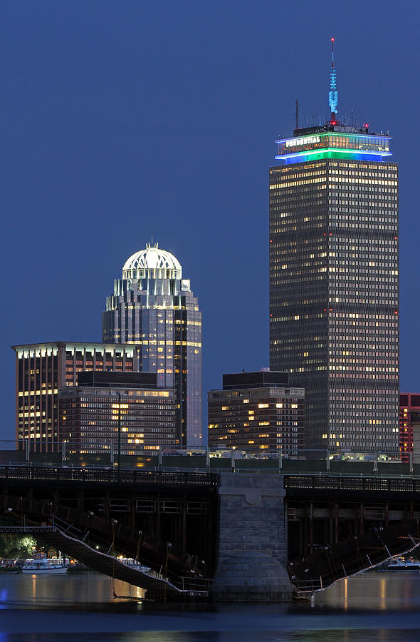 Boston Photograph - Boston Prudential Center Celebrating 100th Anniversary Of Shaw Market by Juergen Roth