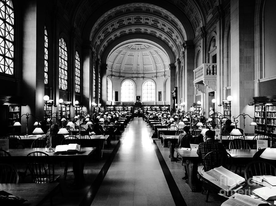 Boston Public Library... Or Hogwarts? Photograph by JMerrickMedia